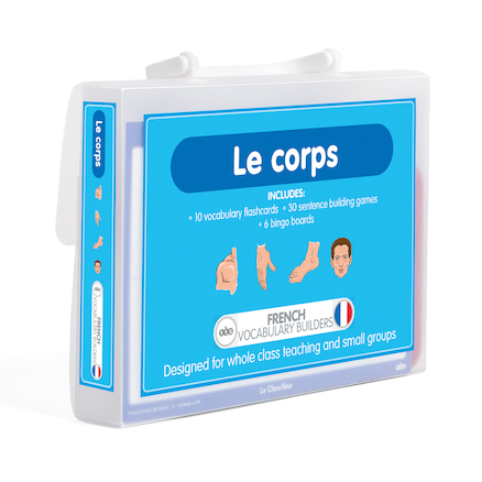 French Vocabulary Builders \- Body Parts  large