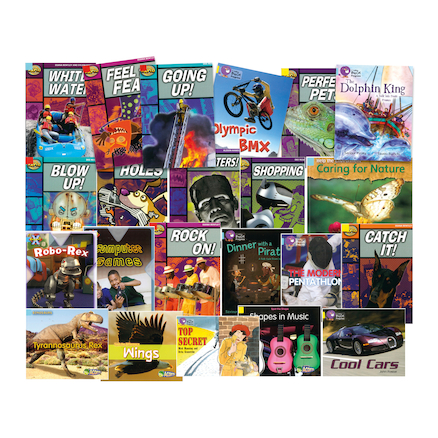 Red, Yellow and Blue Band Books 22pk  large