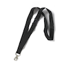 Black Fabric Lanyards 10pk  small