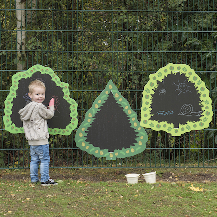 TTS Trees Mark Making Outdoor Chalkboards  large