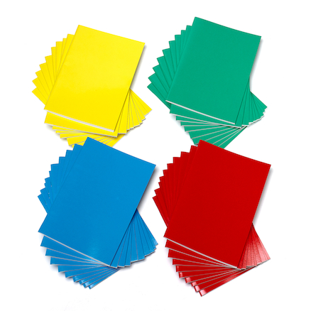 Multicoloured Stapled Sketchbooks 140gsm 40pk  large