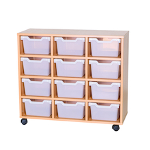 12 Cubby Tray Unit H800mm  medium