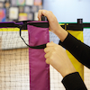 Multisport Tennis and Badminton Net Set 3m and 6m  small