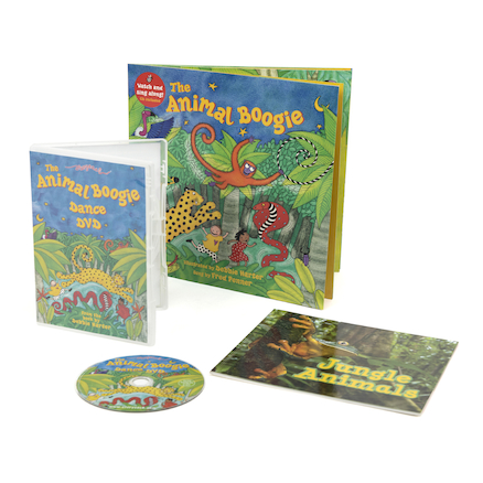 The Animal Boogie Story Sack Books and Toys Pack  large