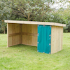 Outdoor Wooden Multi Purpose Storage Unit  small