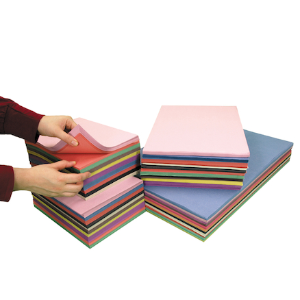 Assorted Sugar Paper Stack  large