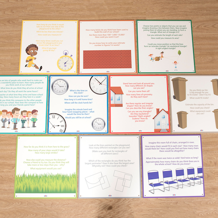 Mathematical Moments Outdoor Signs KS2  large