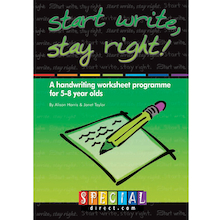 Start Write Stay Right Handwriting Workbooks  medium