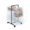 Large 40 Shelf Mobile Drying Rack  small