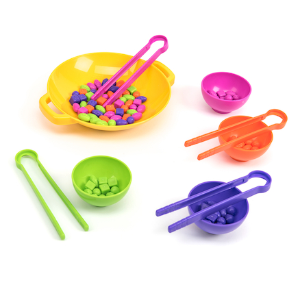 Fine Motor Tweezers Sorting Set  large