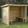 Wooden Changing Hut  small