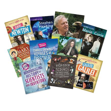 Famous Scientists Book Pack  large