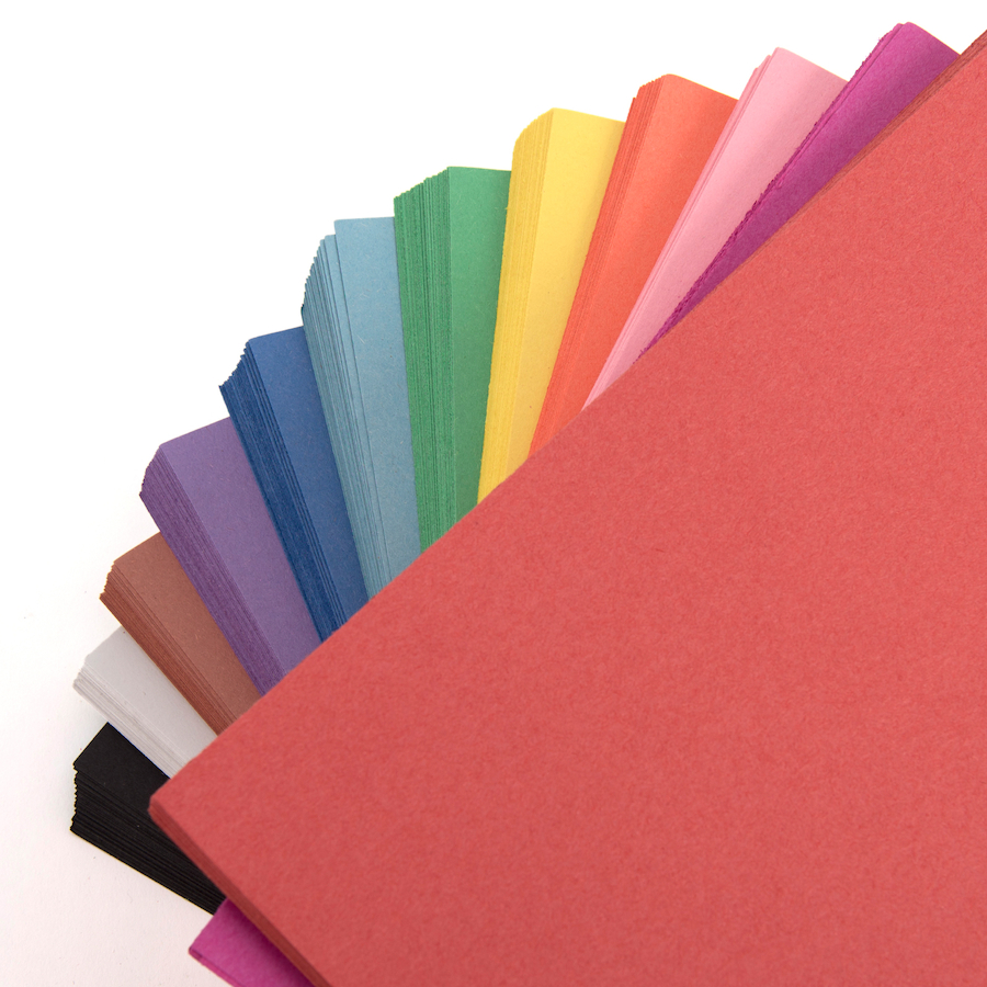 Buy Construction Paper Assorted 230 X 300mm 2400pk Tts