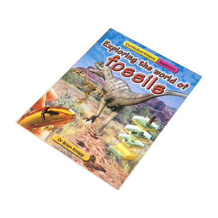 Exploring the World Of Fossils Book And CD  large