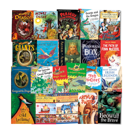Myths and Legends Books 25pk  large