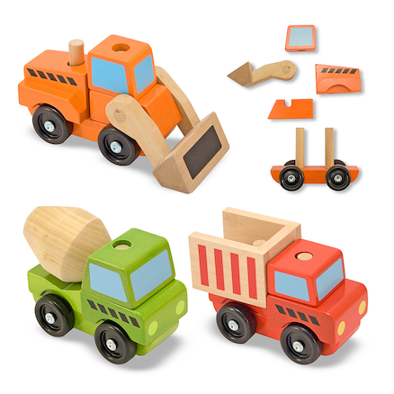 Stackable Construction Vehicles  large
