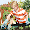 Child Size Gardening Gloves 5pk  small