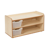 Solway Early Years Shelving 2 Tray  small