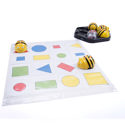 Bee\-Bot 2D Shape Mat Digital Download  large