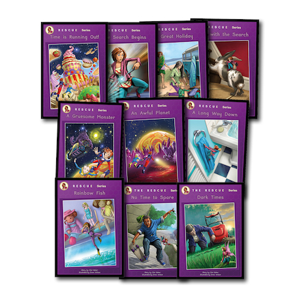 Rescue Series Catch Up Reading Books 10pk  large