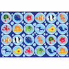 Under the Sea Rectangular Floor Mat W200 x L300cm  small
