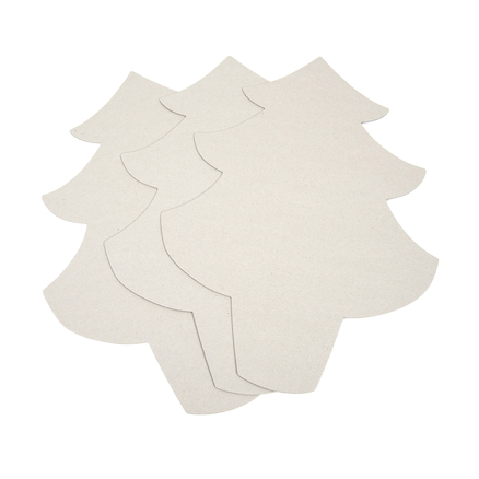 Greyboard Display Christmas Trees 3pk  large