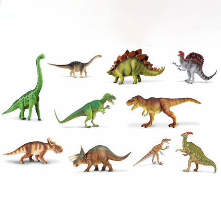 Small World Dinosaur Set 10pcs  large