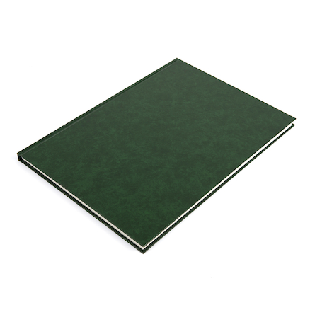 140gsm Hardback Sketchbook A3 Green  large