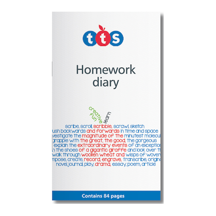 TTS Homework Diaries 10pk  large