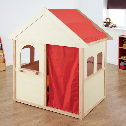 Indoor Wooden Playhouse W140 x D97 x H160cm  large