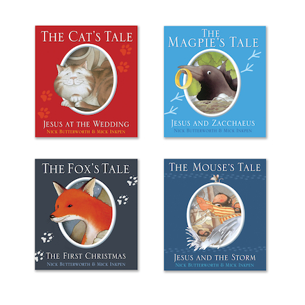 Animal Tales Picture Book Pack 4pk  large