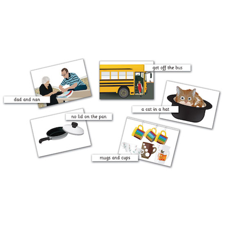 A5 Phase 2 Reading Captions and Pictures 35pk  large
