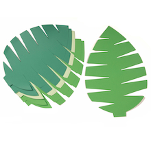 Pre-Cut Card Palm Leaves 20pk  medium