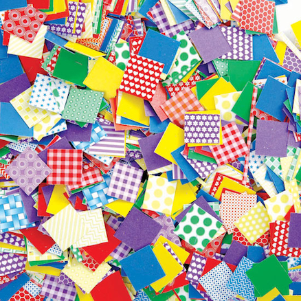 Petite Pattern Assorted Paper Mosaics 2000pk  large