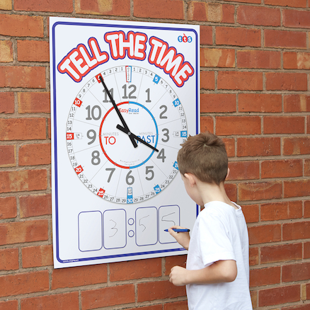 TTS Weatherproof Outdoor Teaching Clock A1  large
