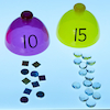 Lightbox Translucent Number Sorting Domes  small