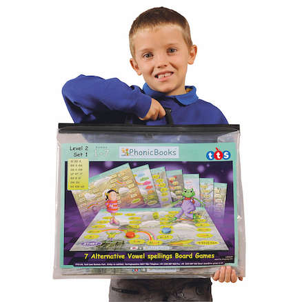 Dandelion Readers Phonics Board Games  large