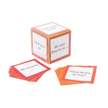 Spanish Conversation Cards Inserts  medium