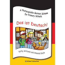 Das Ist Deutsch German Photocopiable Book  medium