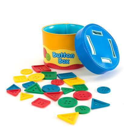 Button Size Sorting Box  large