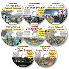 British History CD Collection 8pk  medium