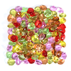 Sparkling Diamond Counters Assorted Colours 100pk  small