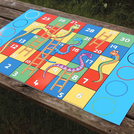 Snakes And Ladders Wall Game H90 x W55cm  large