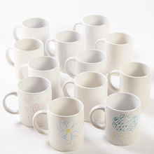 Porcelain Mugs Set 12pk  medium