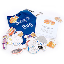 Sing It Bag Song and Rhyme Activity Set 44pcs  medium