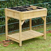 Herb Garden Natural Wood H80 x W78 x D58cm  small
