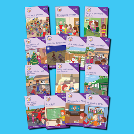 Learn Spanish with Luis y Sofia storybooks  large