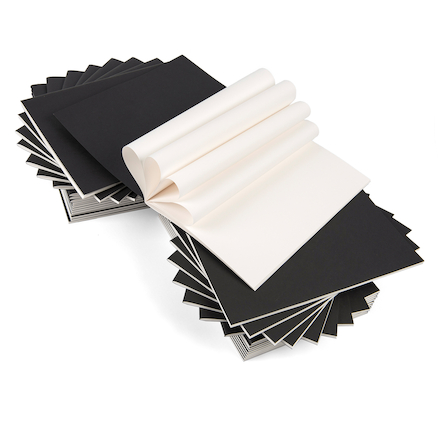 Plain Stapled Sketchbook 140gsm 40pgs A4 40pk  large