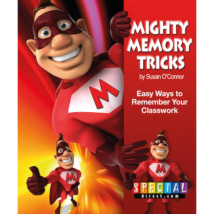 Mighty Memory Tricks Activity Book A4  large
