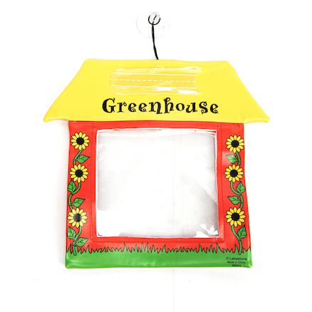 Miniature Transparent Window Greenhouses 20pk  large